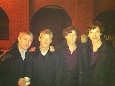 stunt doubles for Sherlock