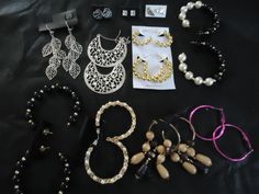 Variety of gorgeous earrings!