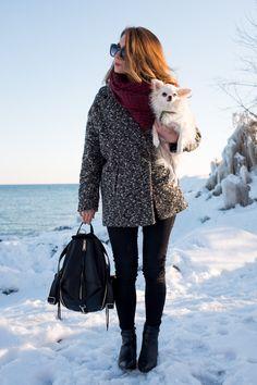La Petite Noob: OOTD - Rebecca Minkoff Julian Leather Backpack