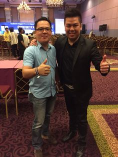Me and Mr.Terence Tan [Pakar Automatic Internet Marketing]
