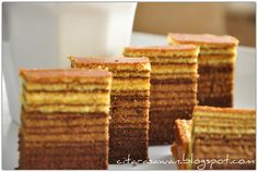 Recipes today - Kek Lapis Koko Mocha
