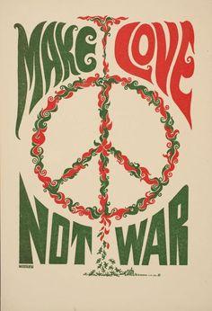 Make love... ☮༺♥༻~ Hippie Soul ~༺♥༻☮