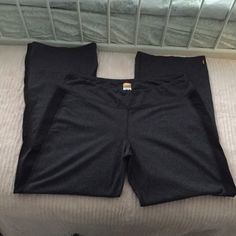 Lucy Athletic pants XL Soft,Stretchy and very  flattering athletic pants. They have a black strip on the outside of the legs which I've noticed to make my legs look slimmer. Lucy Pants Boot Cut & Flare