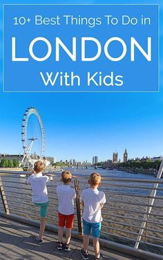 Selection of 10+ best things to see and do in London with kids. Whether you've been to London before or are visiting for the first time, you will definitely find some new inspiration in this post. Check it out!