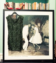 """""""The photograph is by Malick Sidibé. It was a 10th year anniversary gift from my husband. I love the innocence and joy in this image.""""  http://www.thecoveteur.com/veronica-swanson-beard/"""