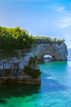 Michigan's Upper Peninsula is a little-known region of rare beauty. Set among deep pine forests along the banks of the Little Beaver Lake is the area's namesake campground, within Pictured Rocks National Lakeshore. For boaters, there's a boat ramp to launch your watercraft towards adventure, and for land lovers, there are plenty of hiking trails too.