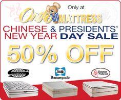 Ortho Mattress Lunar New Year