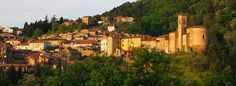 Chianni, a tuscan hilltop village Tuscany, Medieval, Mansions, House Styles, Decor, Dekoration, Decoration, Manor Houses, Villas