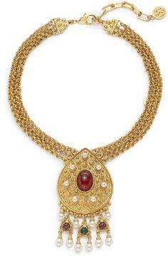 Ben Amun ~ Byzantine Triple Strand Necklace