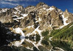 Southern border of Poland runs along different mountain ranges. Most spectacular of them are the Tatra Mountains with town of Zakopane and Pieniny Mountains.  Tatras have a alpine landscape with Rysy as the highest peak (on Polish side) reaching 2,499 m. Steep but easily accessible, the Tatras offer breathtaking views and many tourist routes.