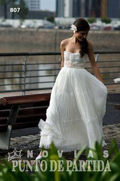 Vestido de Novia / wedding dress Hippie chic