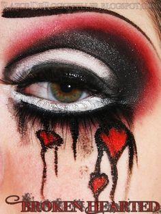 Broken-Hearted by Razor De Rockefeller http://www.makeupbee.com/look.php?look_id=78583