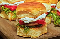 Pan Seared Lamb Sliders on KING'S HAWAIIAN® Sweet Dinner Rolls  recipe easy dinner salad meal bread family flavor pepper