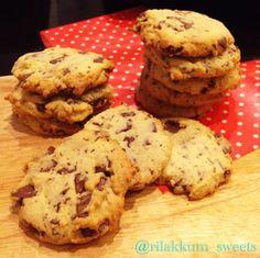 簡単ドロップチョコチップクッキー