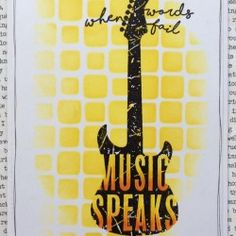 Visible Image - Music Speaks - Corrie Herriman
