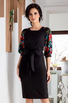Blouse Styles, Blouses For Women, Cold Shoulder Dress, Amanda, Floral, Black, Dresses, Fashion, Formal Dresses