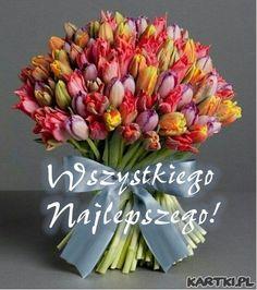 Flowers and best wishes to you! - # you # for # flowers .- Kwiaty i najlepsze życzenia dla Ciebie! – Flowers and best wishes to you! Beautiful Butterflies, Amazing Flowers, Fb Quote, Exotic Flowers, Ikebana, Smiley, Red Roses, Floral Wreath, Wreaths