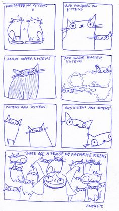 Kittens and kittens and kittens and kittens