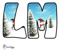 Christmas Alphabet, Projects To Try, Illustration, Yule, Speech Language Therapy, Silhouettes, Lyrics, School, Illustrations