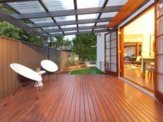 Outdoor living design with deck from a real Australian home - Outdoor Living photo 644771
