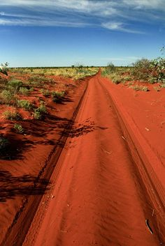 Tanami Desert Track, Northern Territory, Australia.  it's hard to believe we use to work here.