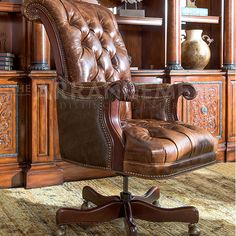 Distressed Leather Desk Chair Cane Occasional 58 Best Wooden Office Chairs Images Traveled Collection A Never Looked So Good As It Does Featured