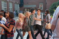 Miley and Douglas in LOL the movie