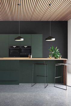 Green Kitchen, New Kitchen, Kitchen Decor, Ikea, Apartment Kitchen, Apartment Interior, Modern Kitchen Design, Interior Design Kitchen, Küchen Design