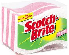 london drugs (ontario equivalent) 3m scotch-brite delicate duty scrub sponge 3 pack $4