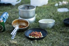 Cooking on a Trangia Stove