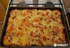 Potato Dishes, Potato Recipes, Meat Recipes, Cooking Recipes, Recipies, Hungarian Recipes, Special Recipes, Lasagna, Macaroni And Cheese