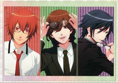 Otoya, Reiji and Tokiya