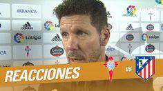 """Interview to Simeone: """"Hoy tuvimos más contundencia que en otros partidos"""""""