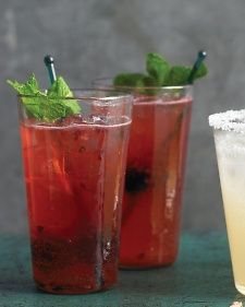 Raise a glass to sunny days and balmy nights with these refreshing cocktails.