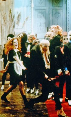 rocky horror fantastic movie......do the time warp