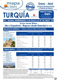 Turquia Bellezas de Capadocia I desde Bilbao **Precio Final desde 585** ultimo minuto - http://zocotours.com/turquia-bellezas-de-capadocia-i-desde-bilbao-precio-final-desde-585-ultimo-minuto/