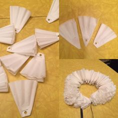 Set the stage for some imaginative play with this DIY Elizabethan collar, just like Shakespeare… #CoffeeFilters
