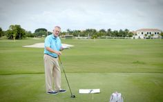 Today, Martin Hall comes to you from his home base at Ibis Golf Club in Palm Beach Gardens, Florida, with an ingenious tip aimed at helping you drive the ball farther than ever. The key is to catch the ball on the upswing and launch it.