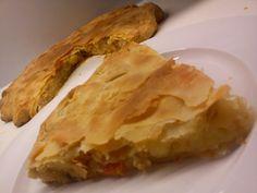 Πατατοπιτα νηστισιμη   Συστατικα για ενα ταψι   ζυμη 400γρ.αλευρι   1 κουτακι σοδα η 1 φλ.νερο   1 πρεζα αλατι   1 κ.σ. ξιδι   ... Pie Dish, Dishes, Greek Beauty, Desserts, Pizza, Food, Projects, Tailgate Desserts, Log Projects