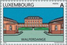 Sello: Walferdange (Luxemburgo) (Tourism) Mi:LU 1495,Yt:LU 1445