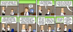 Dilbert comic strip for 12/16/2012 from the official Dilbert comic strips archive.