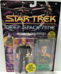 (TAS033707) - 1993 Playmates Star Trek Deep Space Nine - Chief Milles O'Brien