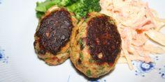 Spændende spansk-inspirerede fiskefrikadeller med en dejligt krydret smag af chorizo, persille og forårsløg.