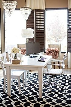 Office idea... love this! #classicdesign, #officemakeover, #newoffice