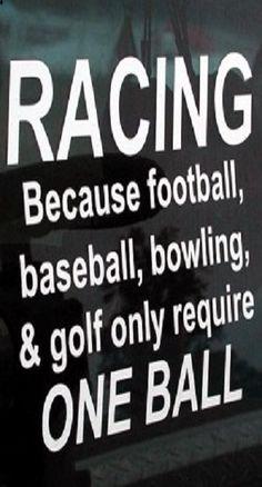 #Racing.