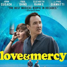 """""""Love & Mercy"""" available on Digital HD 8/25, On Demand 9/11, Blu-ray and DVD 9/15. Info and buy options: brianwilson.com @johncusack #brianwilson #johncusack #beachboys #LoveAndMercy"""