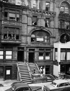 Lincoln Square Tenements c1956 New York City