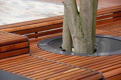 Falco B.V. (product) - Levendig plein met zitelementen en boombescherming ineen - PhotoID #153089 - architectenweb.nl