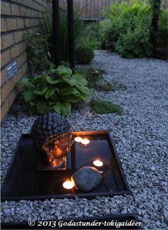 Godastunder & Tokiga Ideèr Dream Garden, Home And Garden, Asian Design, Backyard, Patio, Outdoor Living, Outdoor Decor, Summer Of Love, Curb Appeal