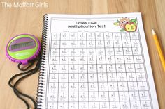Help your students build fluency with the Multiplication Tests NO PREP Packet. It comes with 3 different versions so that you can target each student's needs. Math Multiplication Games, Fun Math, Teaching Language Arts, Teaching Math, Homeschool Math, Homeschooling, Classroom Procedures, Math Concepts, 3rd Grade Math